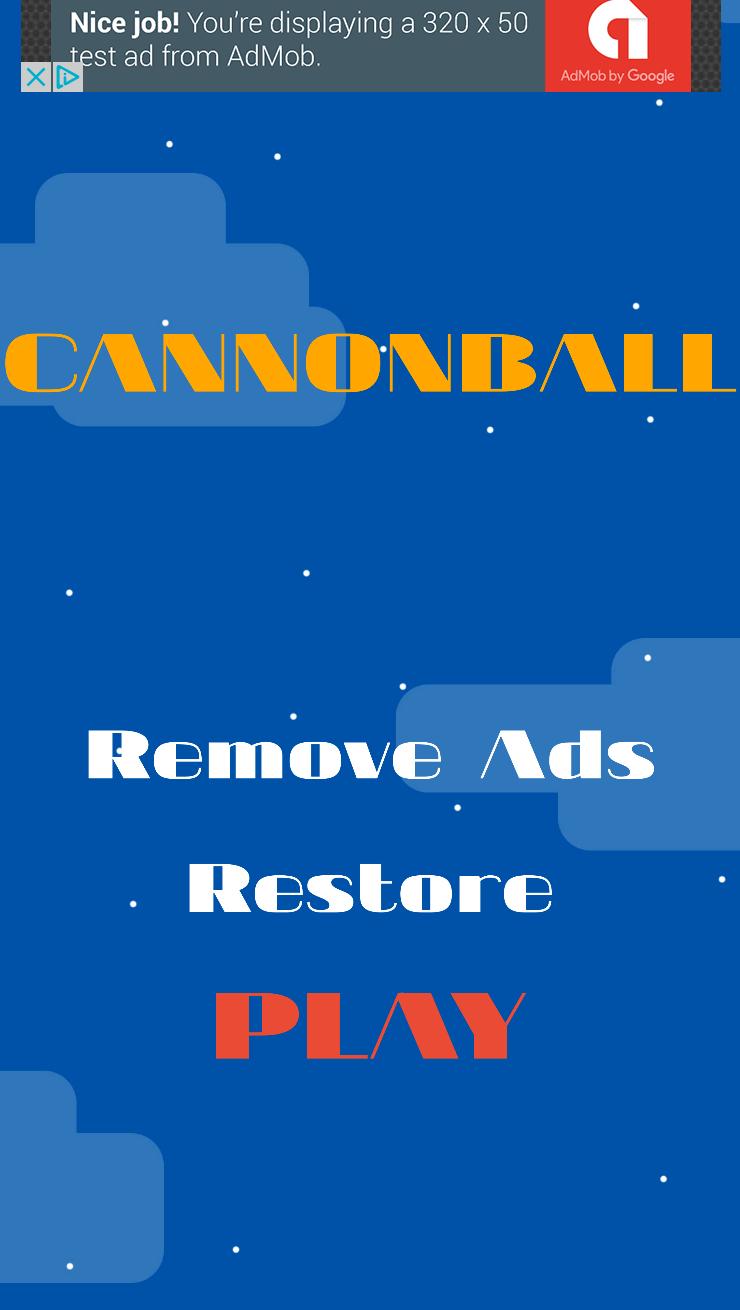 Cannonball - iOS 10  Swift 3 ready