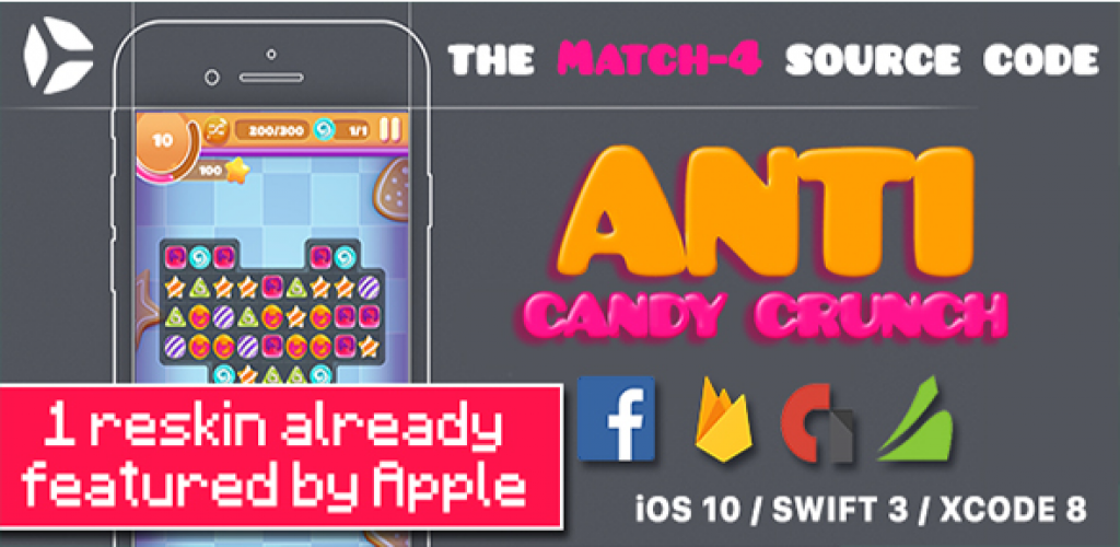 Anti Candy Crunch - the MATCH-4 Source Code