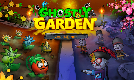 Ghostly Garden - Plants Vs Zombies