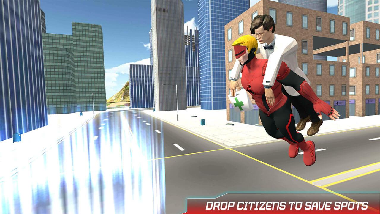 Miami City crime Simulator-City Mafia War Game