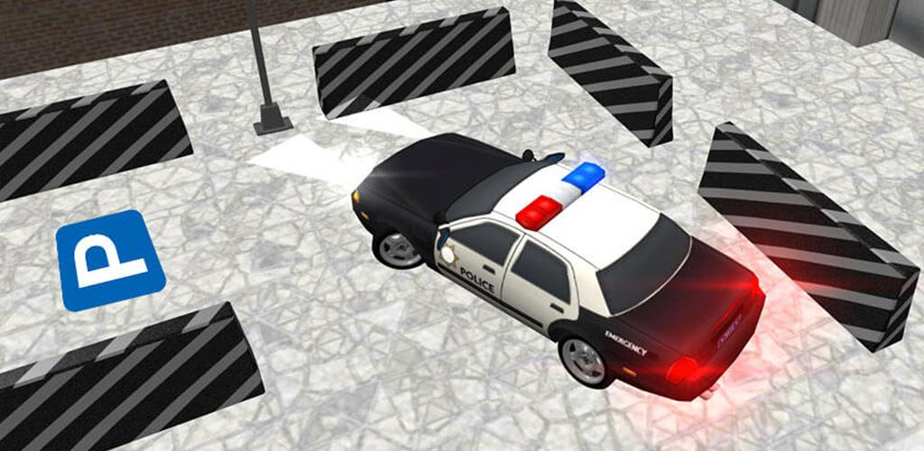 Police car parking game real driving 2020