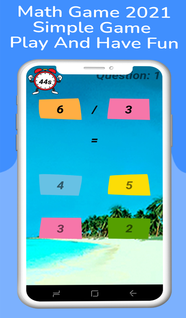 Basic Math 2021-For Kids All Operations : Android Game Source Code