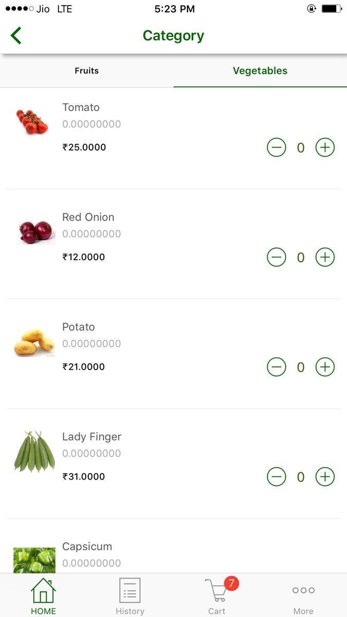 Apporio Grocery eCommerce App