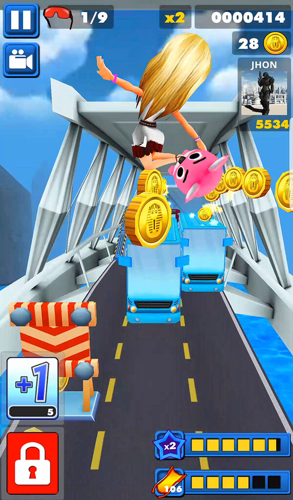 Bus  Subway Endless Runner