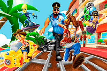 Train Surfers Subway Runner Online
