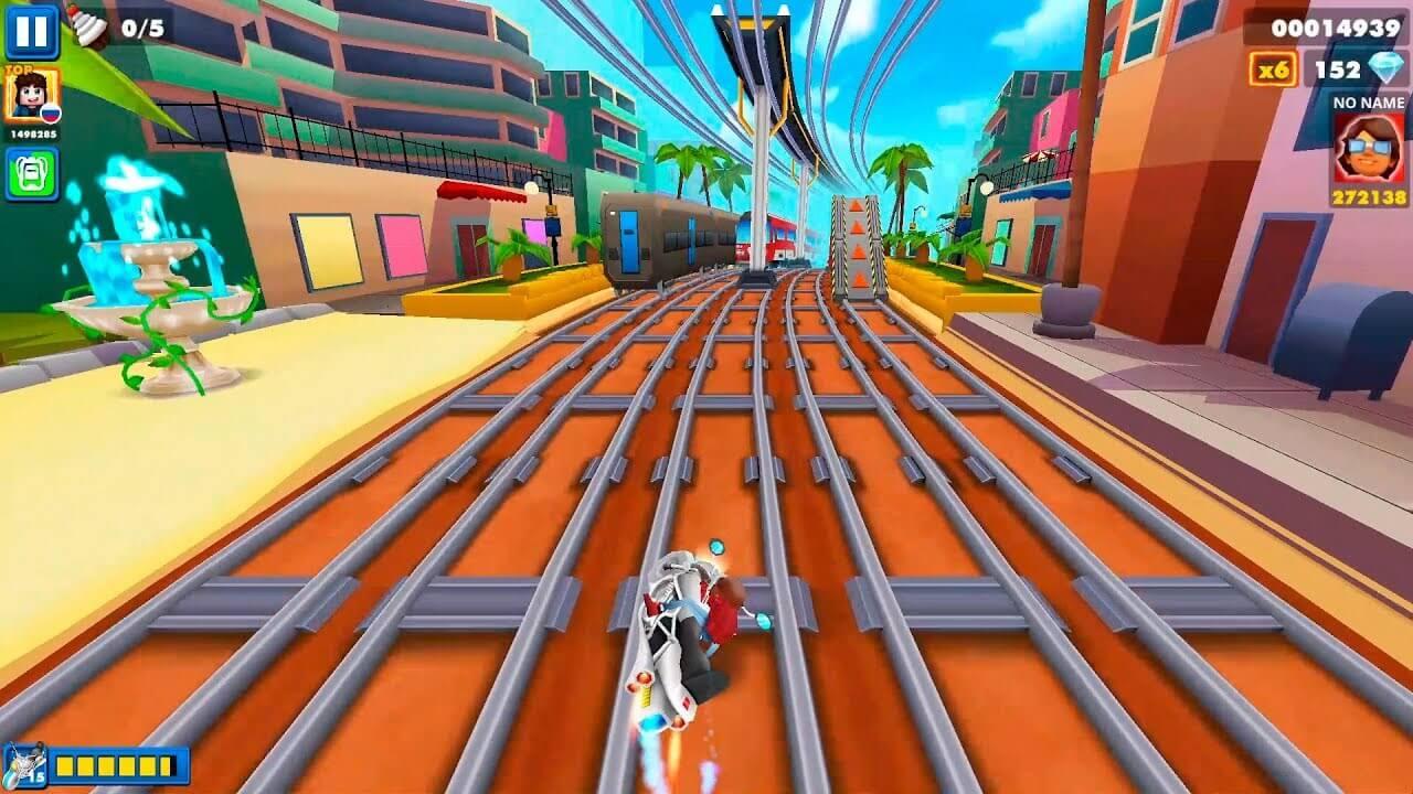 Train Surfers Subway Runner Online