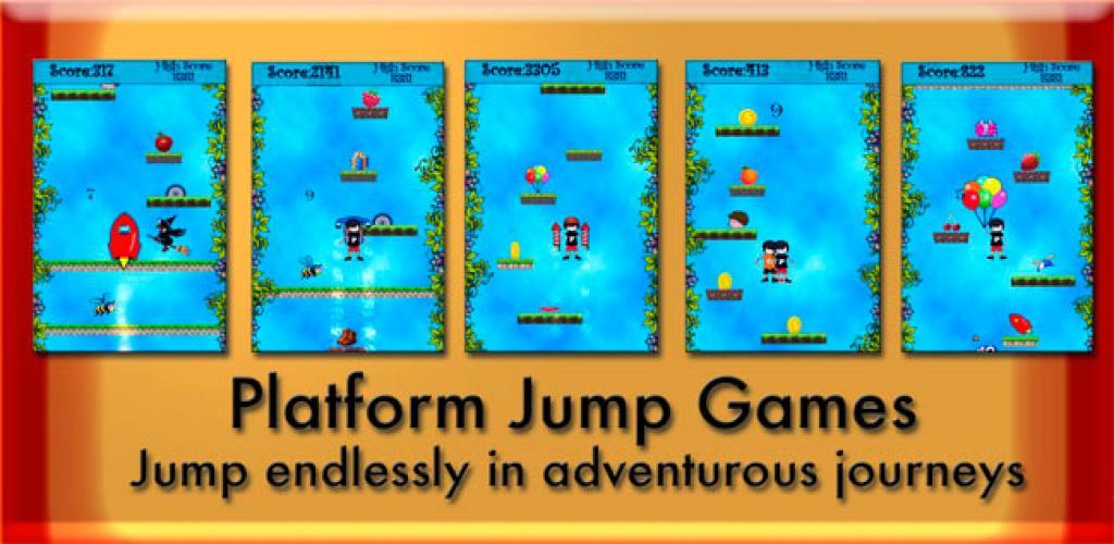 Platform Jump Unity3D Project Source Code