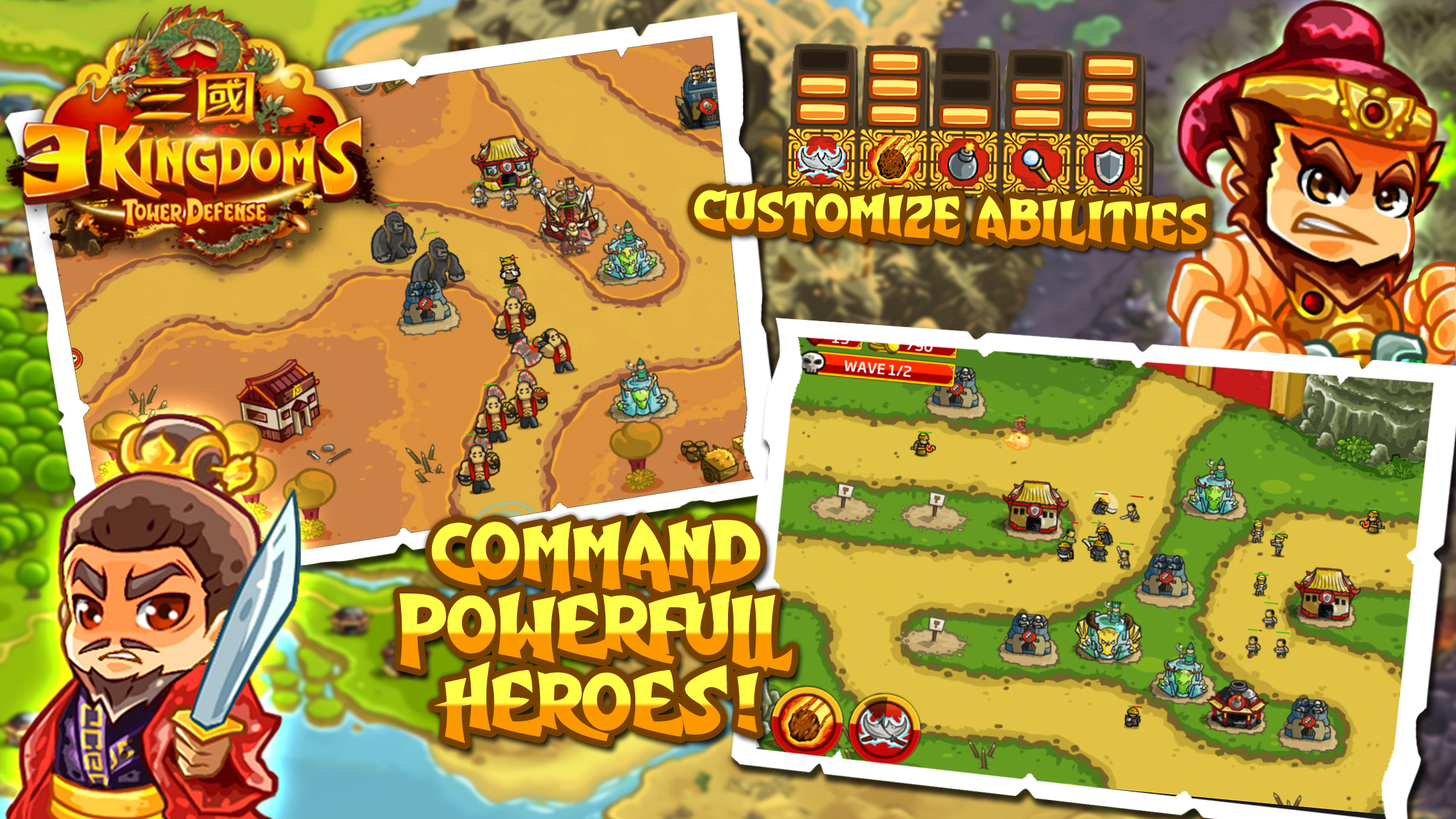 Kingdom Rush - Tower Defense - Cocos2dx