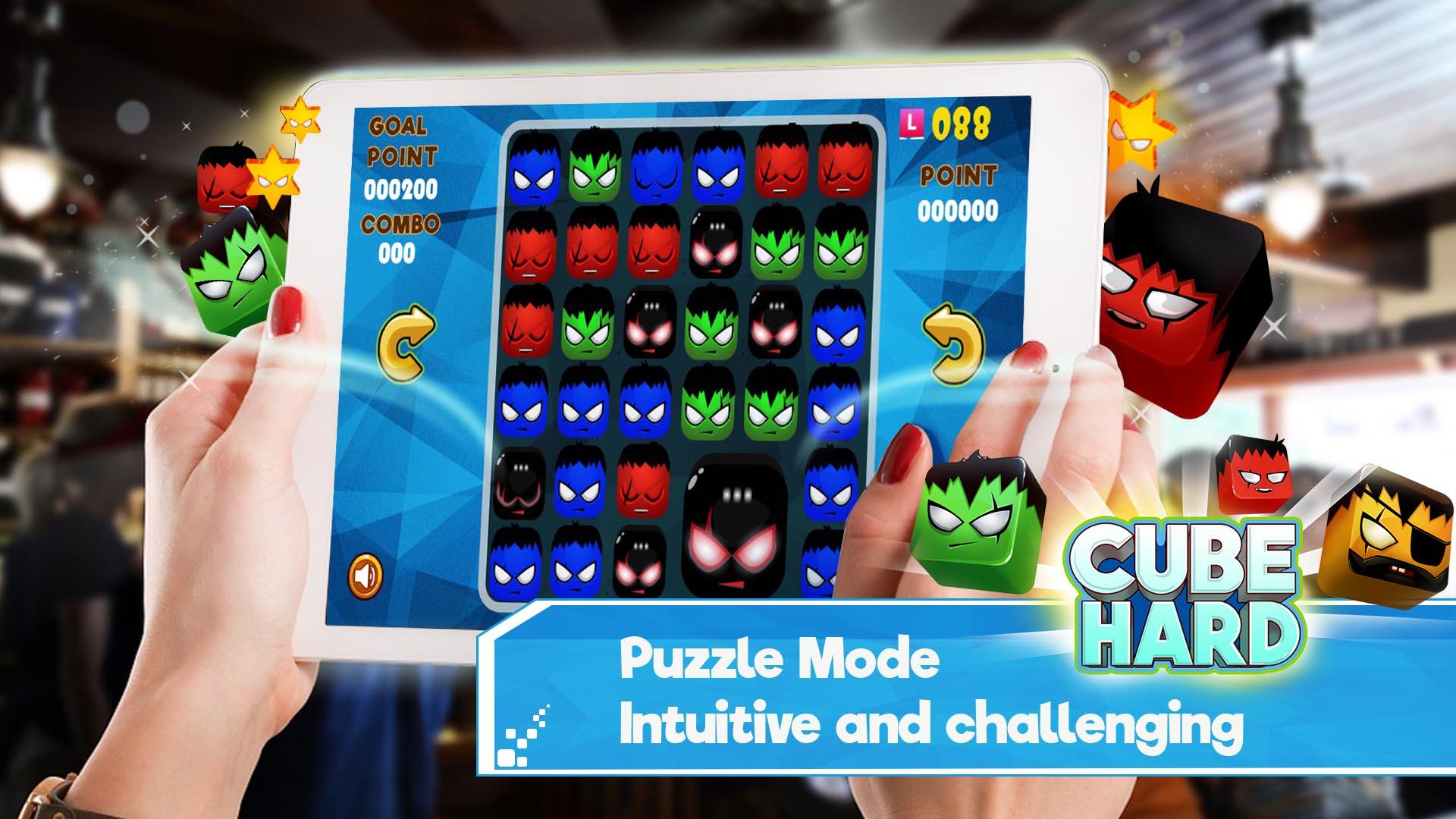Cube Hard: Match 4