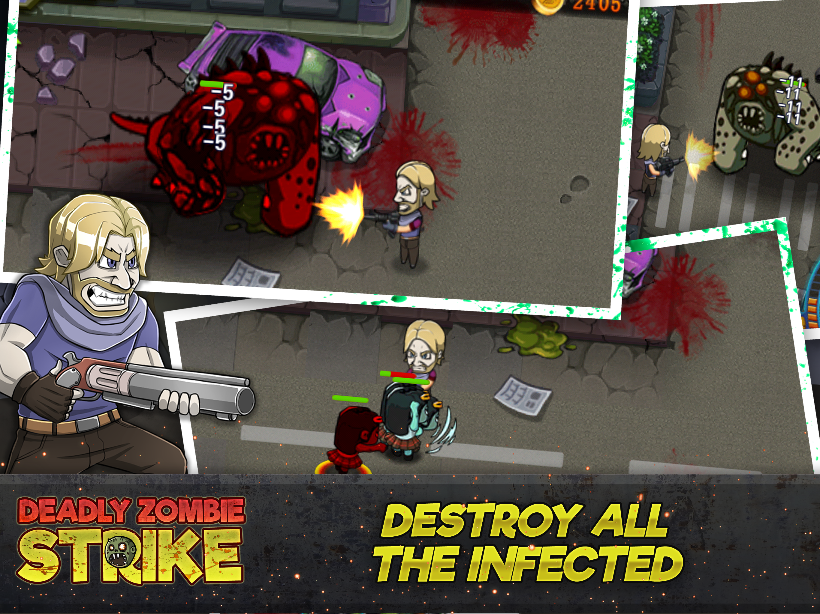 Zombie 3D Shooting Killer Game