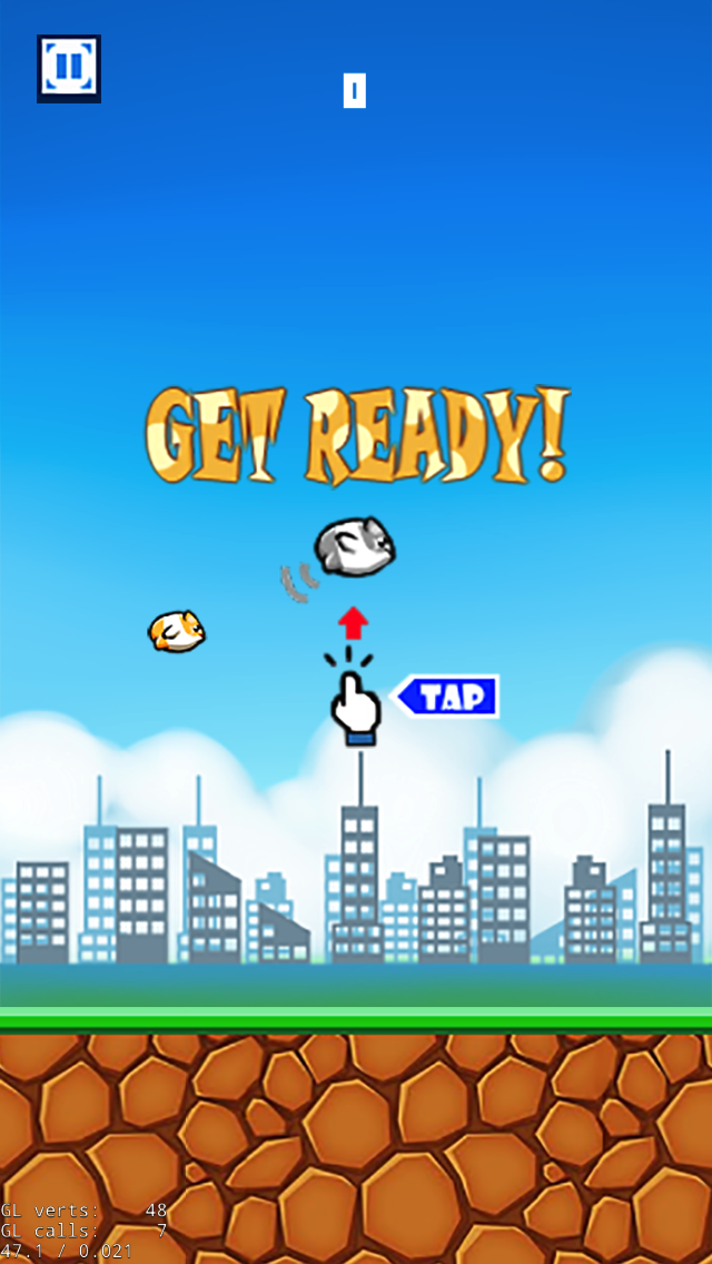 Tap Tap Hamster Game Flappy Bird