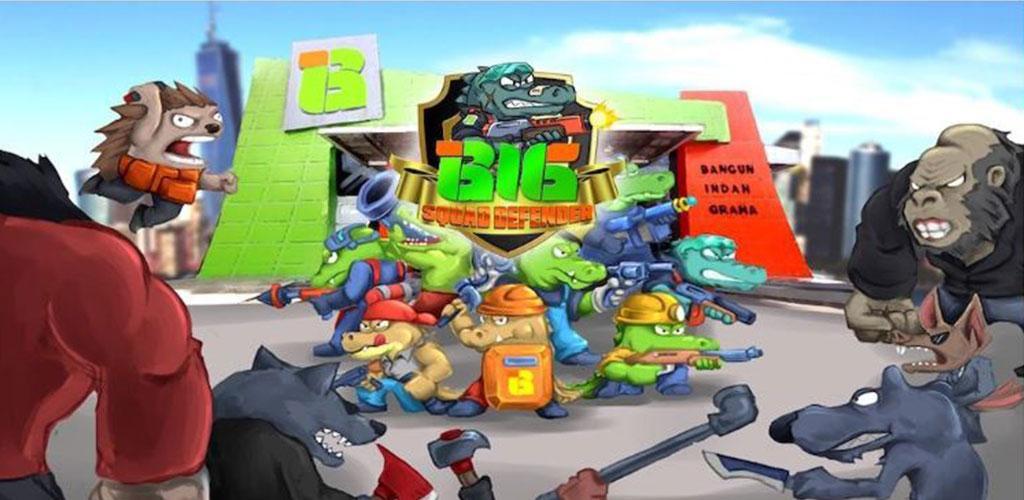 Plant Versus Zombie - BIG Squad Defender