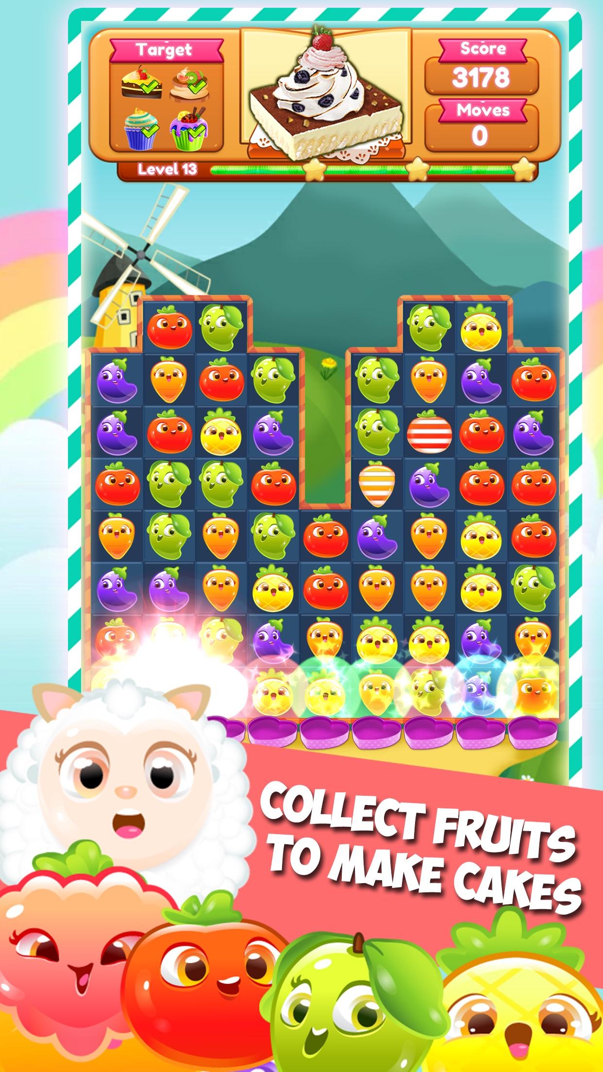 Unity - Happy Farm Crush Saga