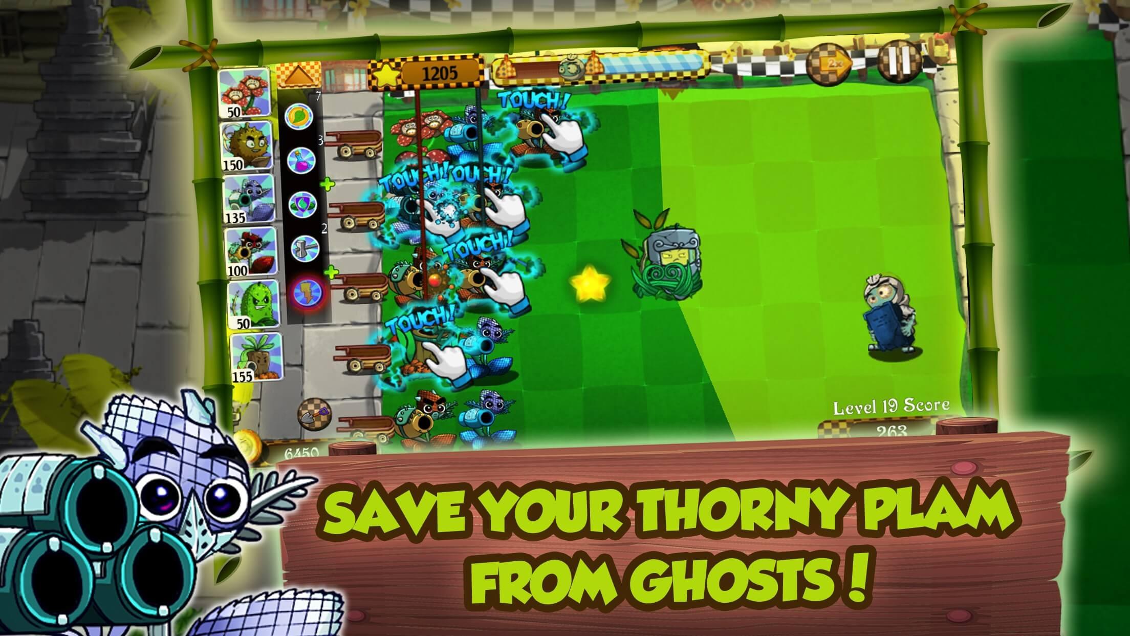 Bali Ghost Battle - Plant Versus Zombie