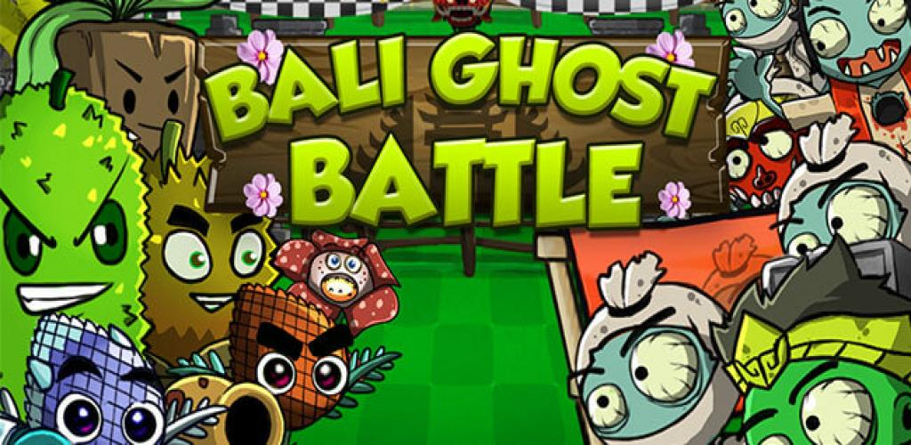 Bali Ghost Battle - Plant Versus Zombie
