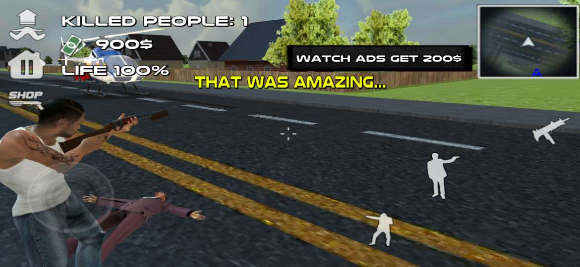 Grand Theft Auto - Mad Gangster Theft Survival