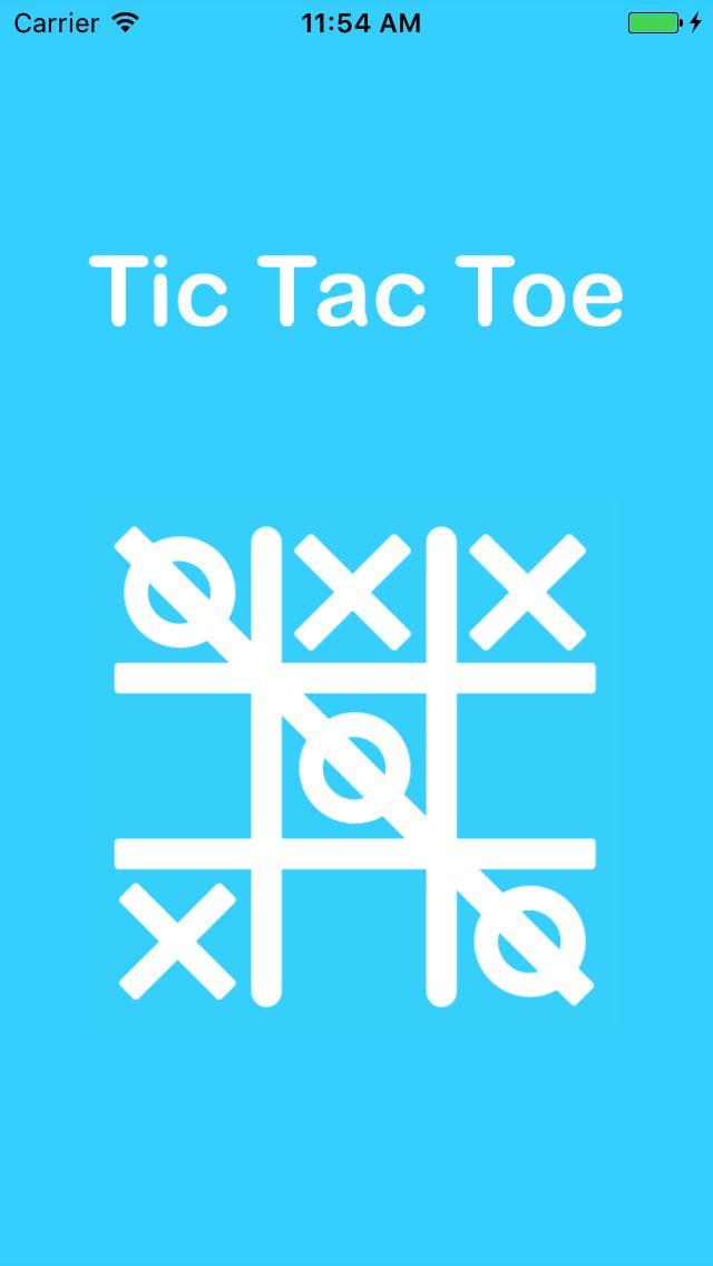 Tic Tac Toe - iOS Game Source Code