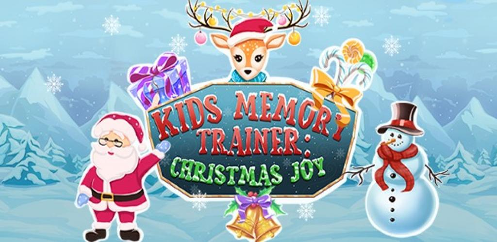Kids Memory Trainer  Christmas Joy