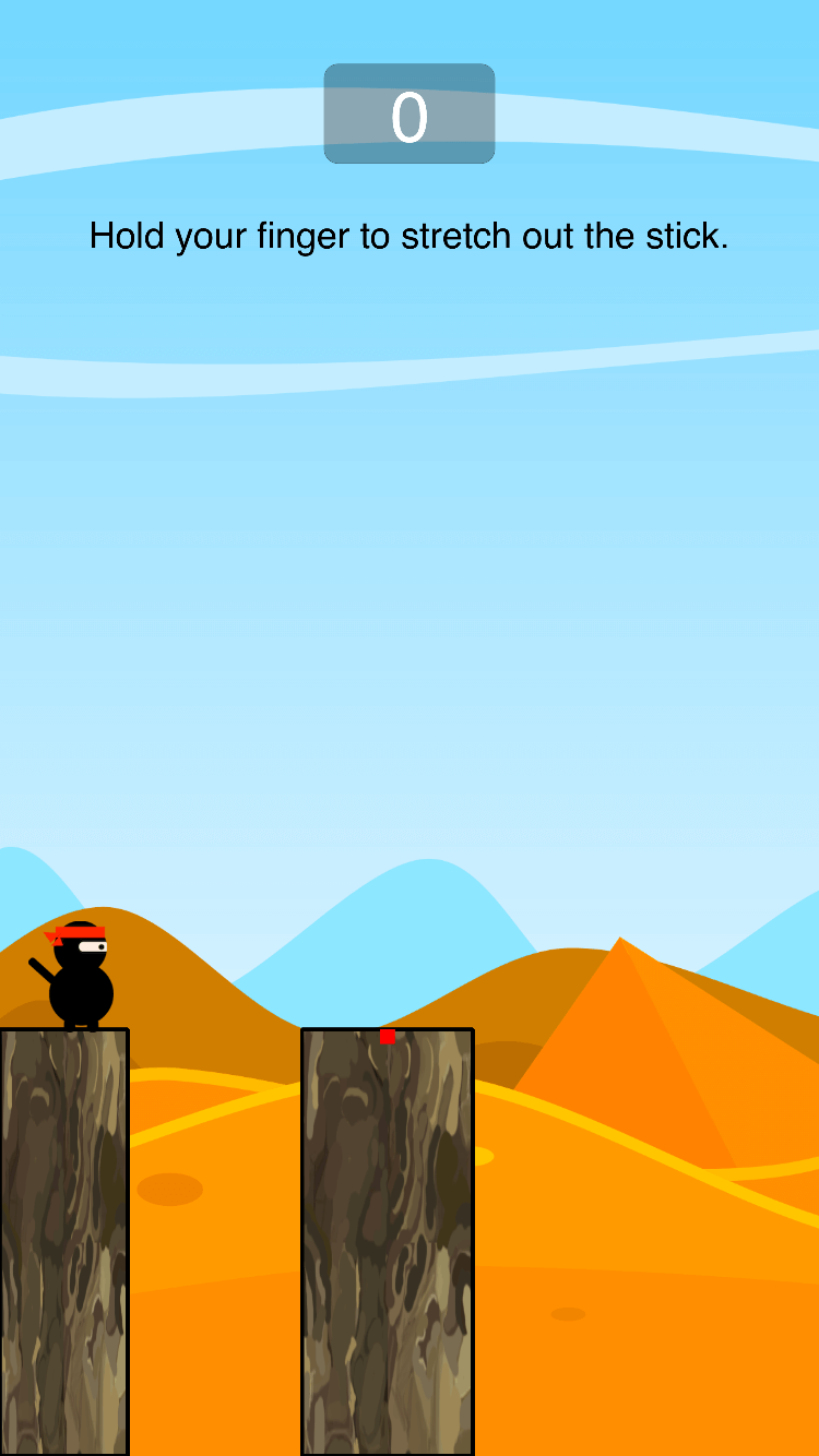 Ninja Adventure – Endless iOS game