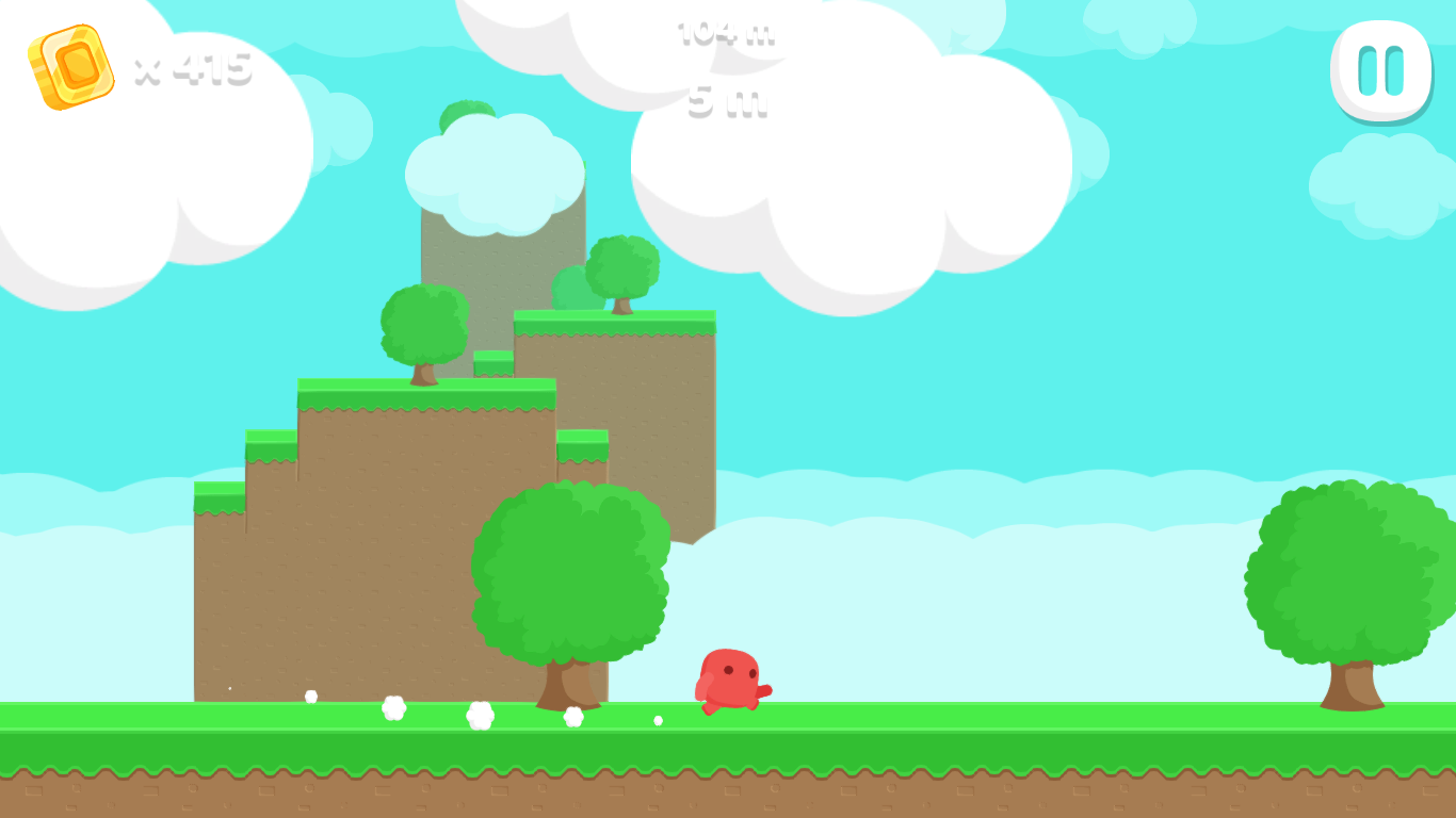 Little Red Endless Runner